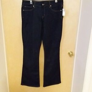 NWT Gap 1969 dark deinm jeans